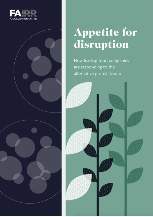 Appetite for disruption: How leading food companies are