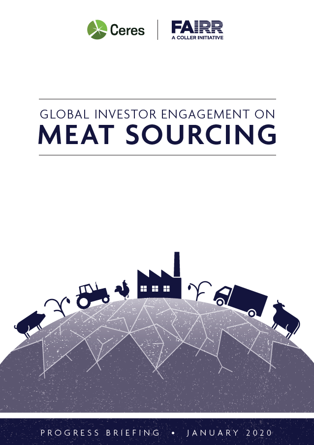 Meat sourcing cover